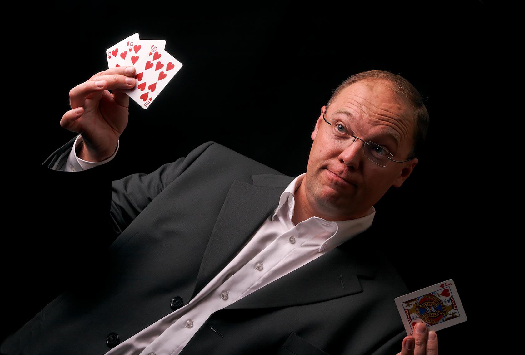 Philippe Noel, magie avec cartes